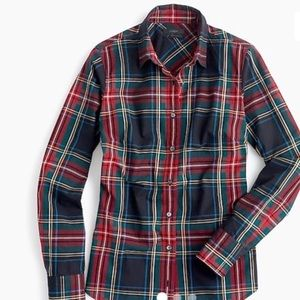J. Crew Perfect Fit Shirt in Stewart Plaid
